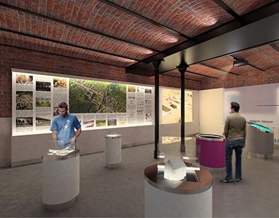 Archeological Exhibition Interior Design