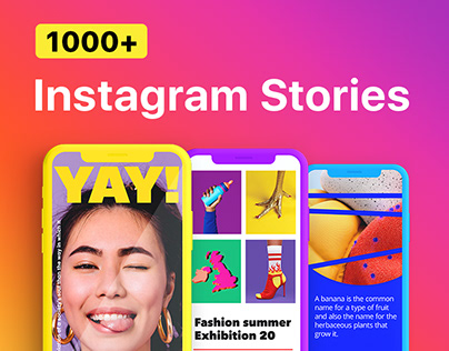 Instagram Stories | AE, FCPX and Premiere template