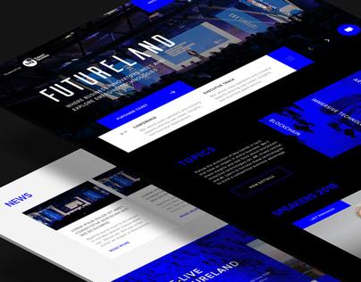 Futurland by Talent Garden - UI/UX design Homepage