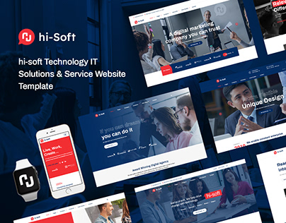 hi-Soft - IT Solutions HTML5 Template