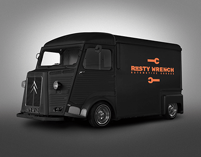Rusty Wrench Brand Concept