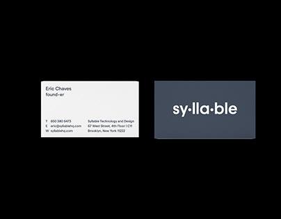 Syllable Branding