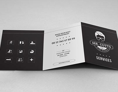 Brochure Design: Mr. Cutts
