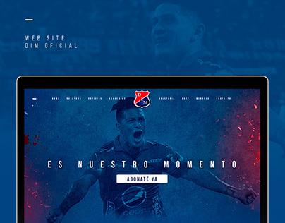 Website DIM Oficial | Concept Design