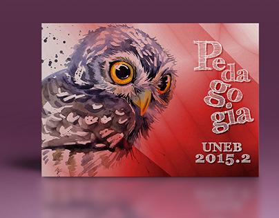 Convite de Formatura Pedagogia UNEB 2015.2
