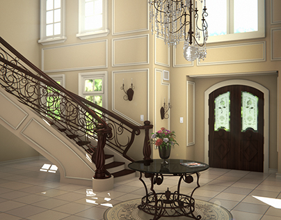 Foyer - 3D Arch Viz