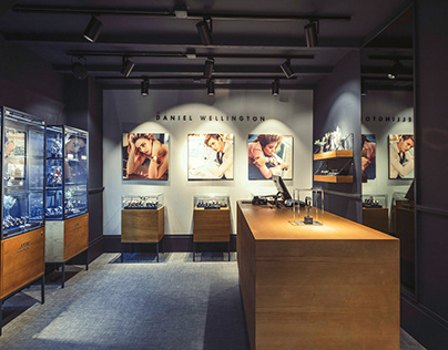 DW brandstore Amsterdam project