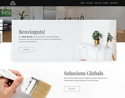 Abacc Serveis - Diseño Web