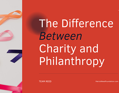 The Difference Between Charity and Philanthropy