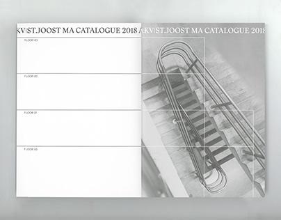 AKV St.Joost MA Catalogue 2018