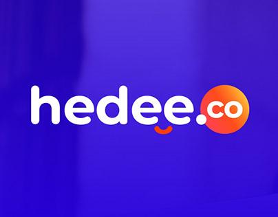 hedee.co | Branding & Web design