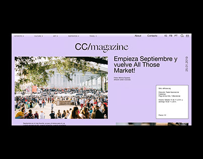 CC/STUDIO & CC/MAGAZINE | CORPORATE & WEBSITE