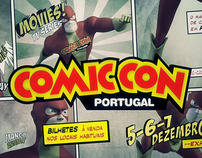ANIMATION • ComicCon Portugal Comercial