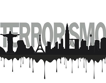 Terrorismo - poster/ilustración