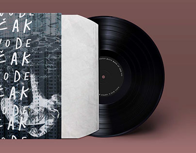 Visual cover for vinyl records