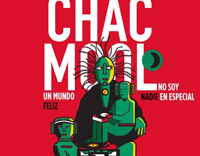 Chac Mool Rock Poster