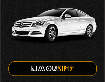 Limousine App Graphic Design