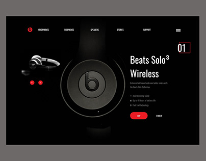 Beats - Product Page UX/UI