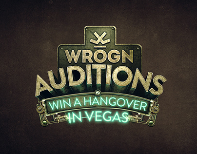 Wrogn Auditions - Game Screen design