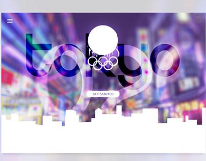 TOKYO 2020 LAND PAGE