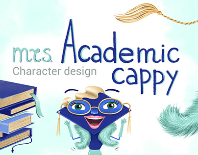 Character design & illustrations for english school