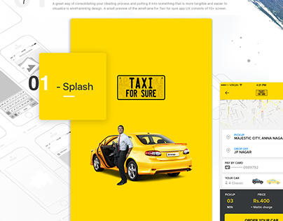 2016 Taxi for sure App Redesign