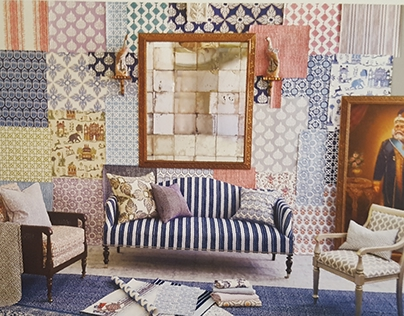 John Robshaw Textiles: Wallpaper Collection