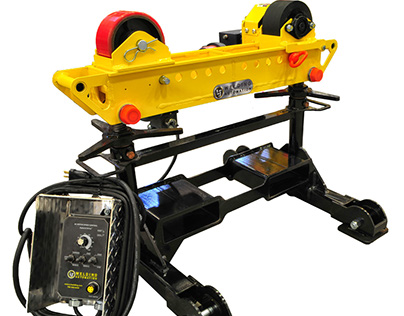 Redesign of 2-Ton Capacity Pipe Roller Stand HD2L-100