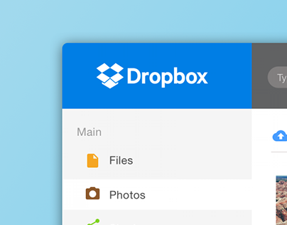 Dropbox Redesign
