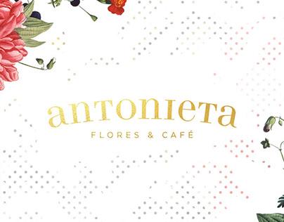 BRANDING • Antonieta Flores & Café