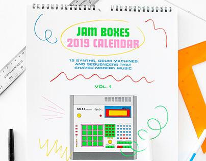 Jam Boxes 2019 Calendar