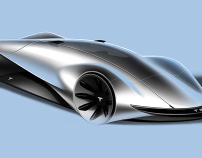 Tesla Halo Supercar
