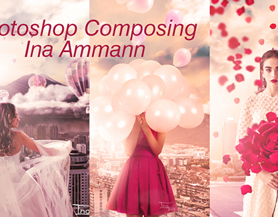 3 Photoshop Composings with video :)