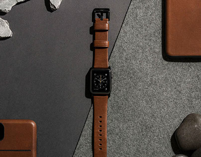 NOMAD Leather Watch Straps