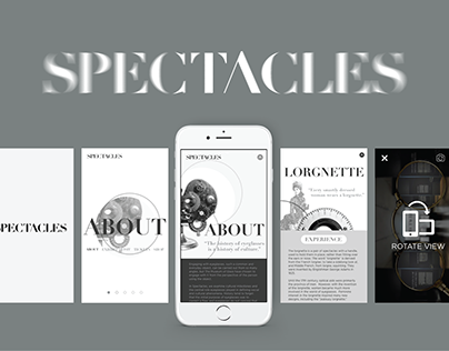 Spectacles | UI/UX Experience