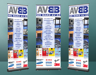 AV Bluebook Wall Banner