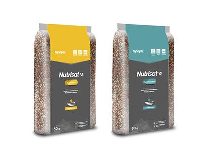 Diseño de Packaging y Roller para fertilizantes.