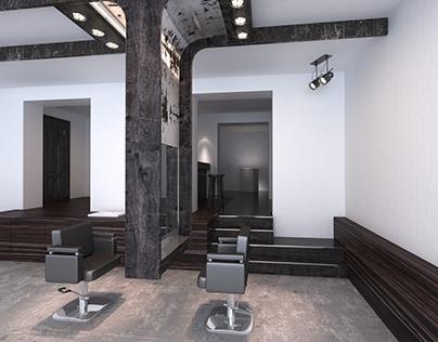 Interior of the Beauty Salon