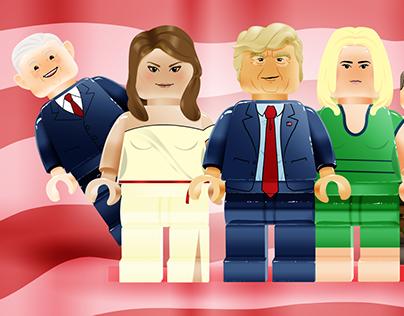 Trump Legos