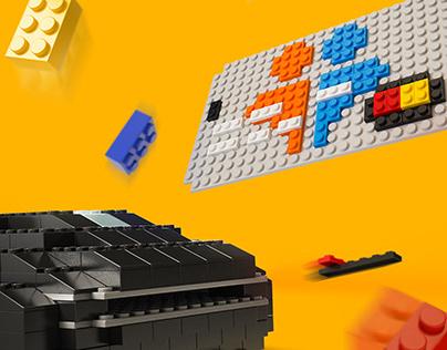 illustration LEGO