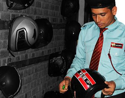 Experience design for helmet center of college