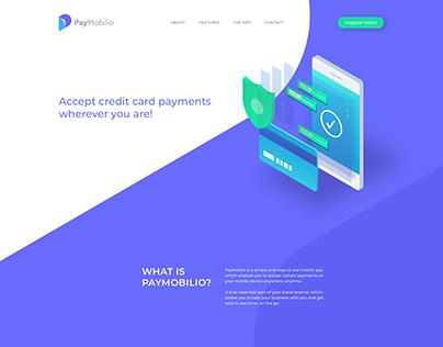 PayMobilio Landing Page