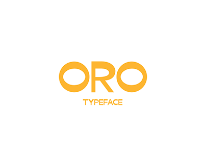 Oro typeface