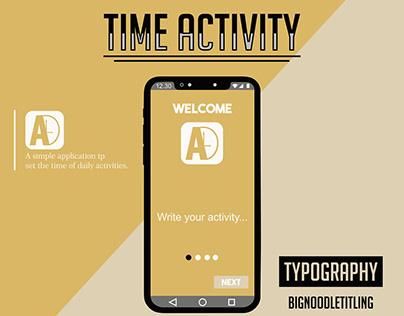 Time Activity App