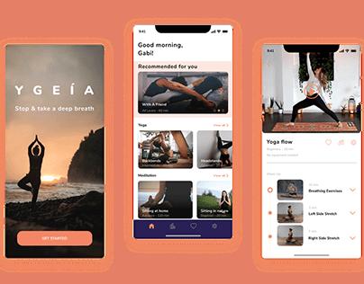 YGEIA - mobile app