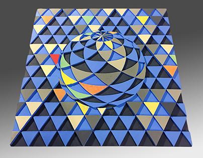 Big Blue Tile
