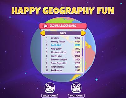 Happy Geography Fun