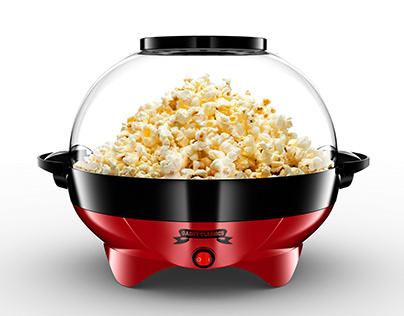 Popcorn 3D Model and Renderings