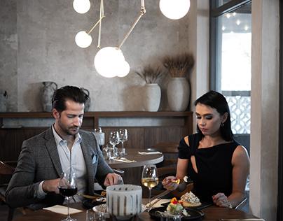 Akropolis Greek Restaurant in NL photo/video shoot