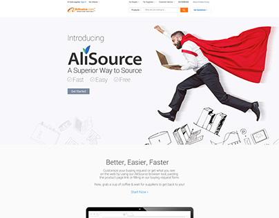 Service brand promotion page